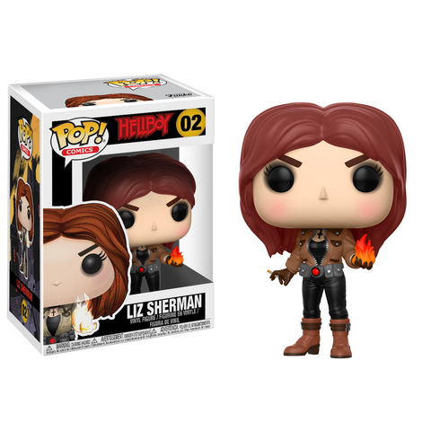 Pop! Comics: Hellboy- Liz Sherman