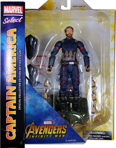 Marvel Select Avengers Infinity War Captain America