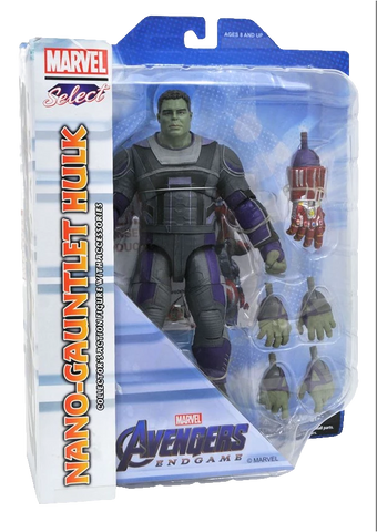 Marvel Select Avengers End Game Nano-Gauntlet Hulk