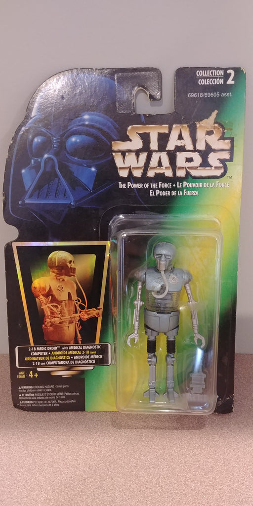 Star Wars The Power of the Force 2-1B Medic Droid with Medical Diagnostic Computer
