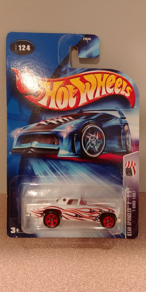 Hot Wheels Star Spangled 2 2/5 T-Bird 1957