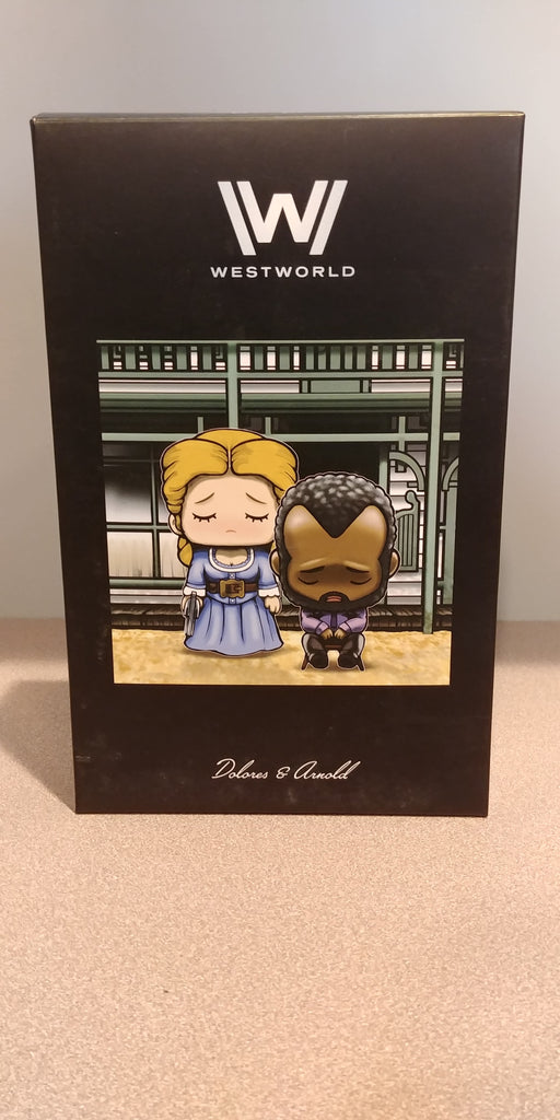 Westworld Super Emo Friends Dolores & Arnold (Loot Crate Exclusive