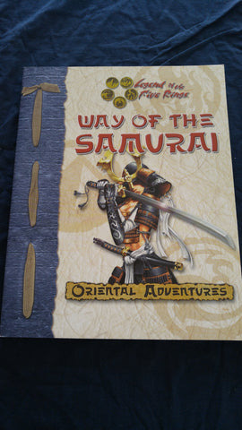 Legend of the Five Rings Way of the Samurai