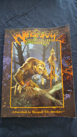 Werewolf Storytellers Handbook, A Sourcebook for Werewolf the Apocalypse