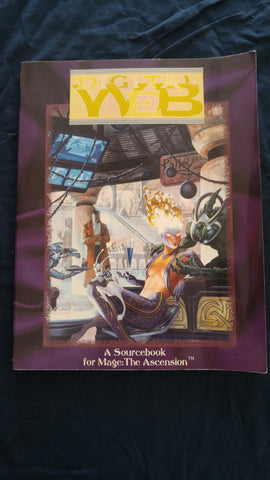 Digital Web, A Sourcebook for Mage: The Ascension