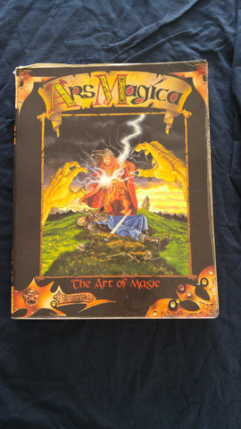 Ars Magica, The Art of Magic, Core Rulebook (fair condition)