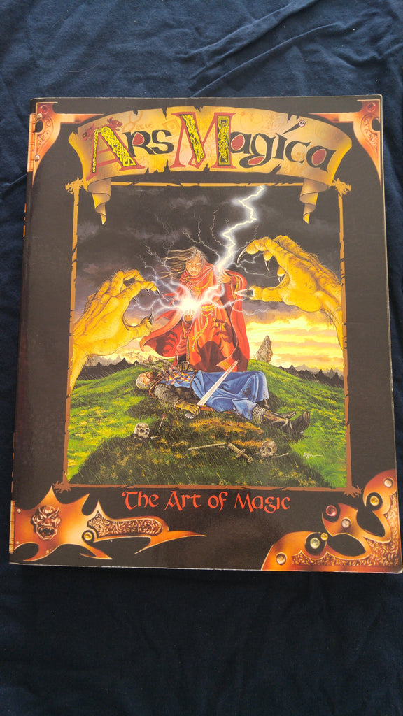 Ars Magica, The Art of Magic Core Rulebook (good condition)
