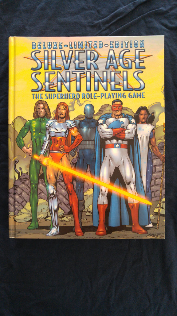Silver Age Sentinels The Superhero Role-Playing Game, Deluxe Limited Editon