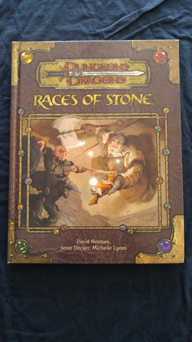 Dungeons & Dragons 3rd Edition Races of Stone