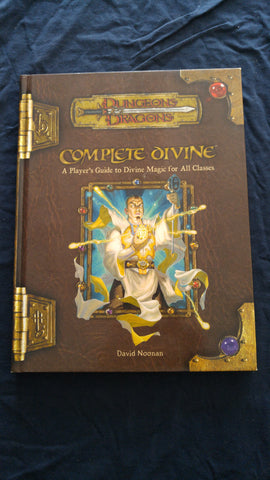 Dungeons & Dragons 3rd Edition Complete divine