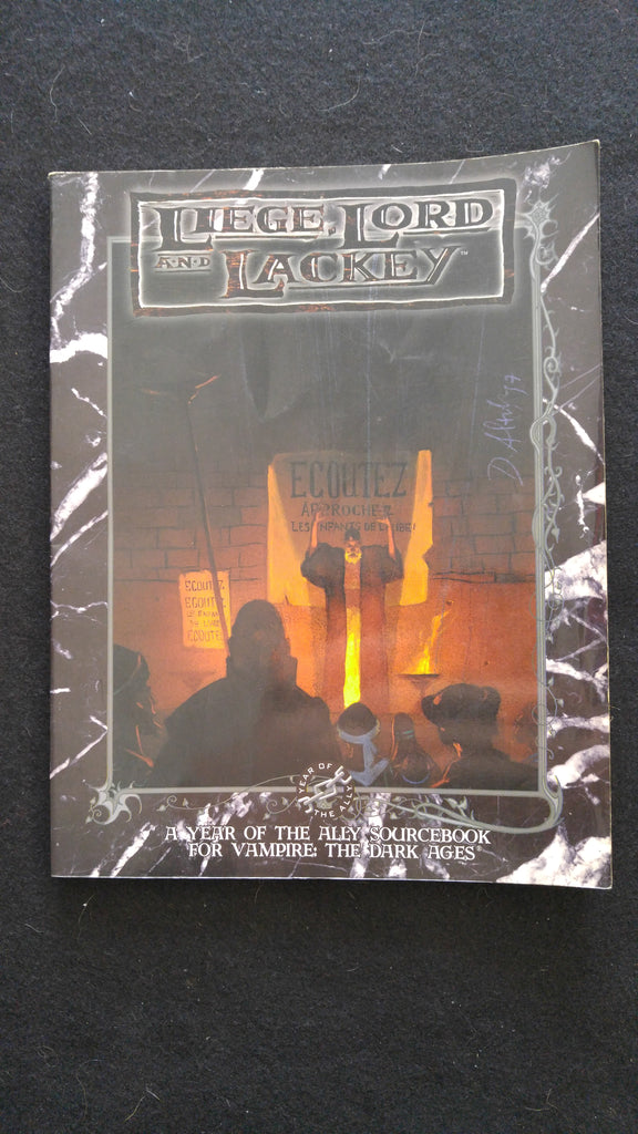 Liege Lord and Lackey, A Year of the Ally Sourcebook for Vampire the Masquerade