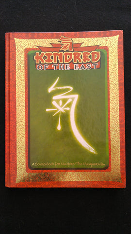 Kindred of the East A Sourcebook for Vampire the Masquerade