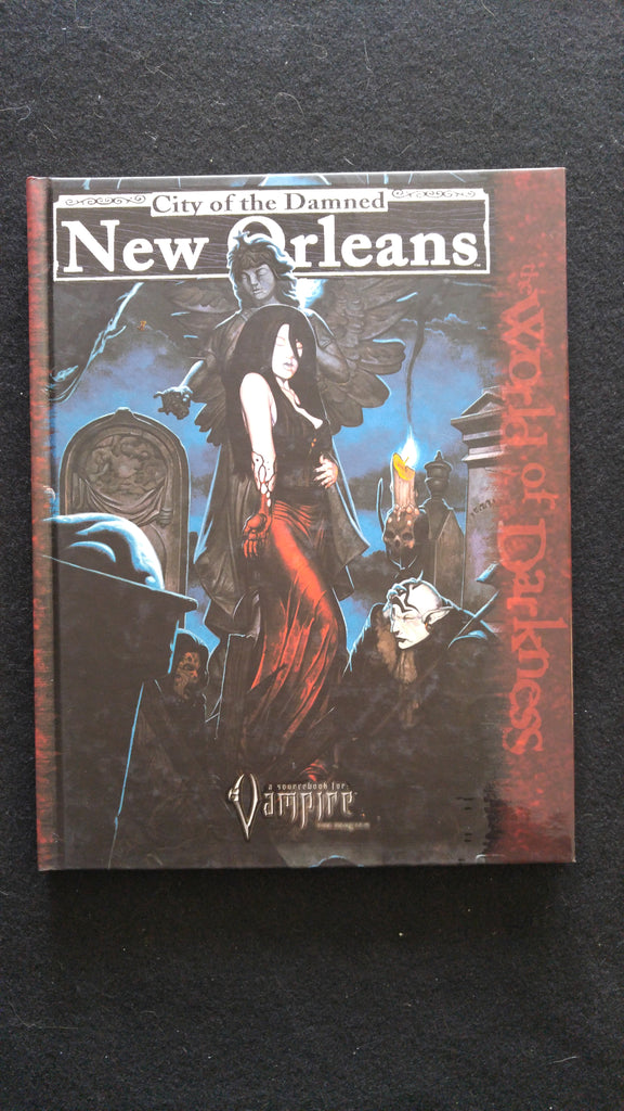 City of the Damned New Orleans A Sourcebook for Vampire the Requiem