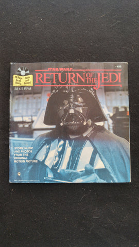 Star Wars Return of the Jedi Read Along Book and Record