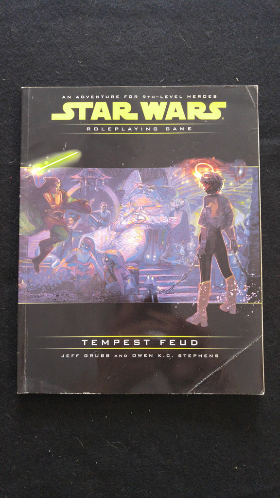 Star Wars Roleplaying Game Tempest Feud: An Adventure for 9th Level Heroes