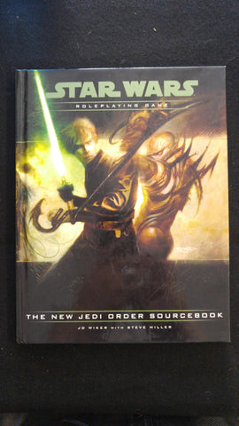Star Wars Roleplaying Game The New Jedi Order Sourcebook