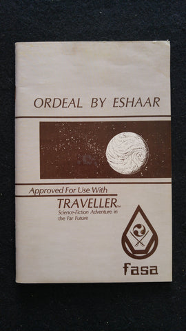 Ordeal By Eshaar (For use with the Traveller RPG)