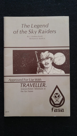The Legend of the Sky Raiders (For use with the Traveller RPG)