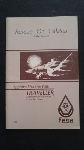 Rescue on Galatea (For use withe the Traveller RPG)