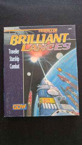 Traveller The New Era, Brilliant Lances, Traveller Starship Combat