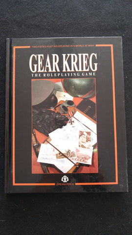 Gear Krieg The Roleplaying Game