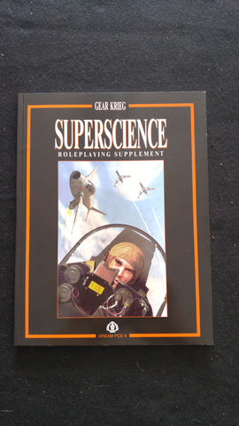 Gear Krieg, Superscience Roleplaying Supplement