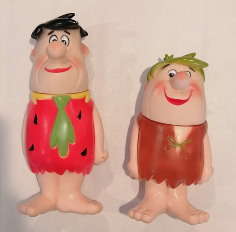 The Flintstones Fred Flintstone & Barney Rubble Plastic/ Vinyl figures