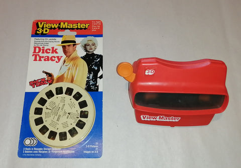 Dick Tracy Viewmaster Lot