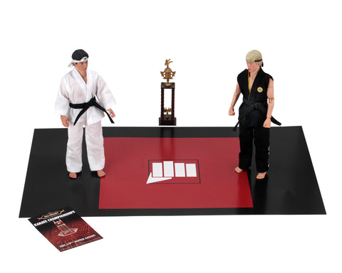 "Karate Kid (1984) – 8"" Clothed Action Figures- Tournament 2 Pack"