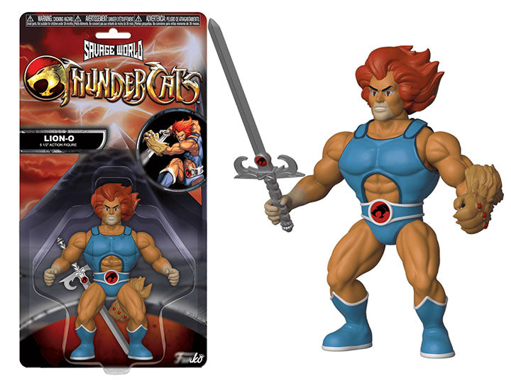 Savage World Thundercats Lion-O