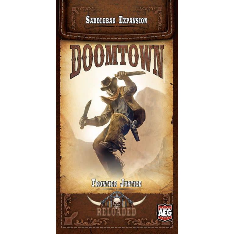 Doomtown Reloaded: Frontier Justice Saddlebag Expansion