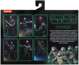 NECA TEENAGE MUTANT NINJA TURTLES 1990 FOOT SOLDIERS W/ WEAPONS RACK 2 PACK 7 INCH FIGURES