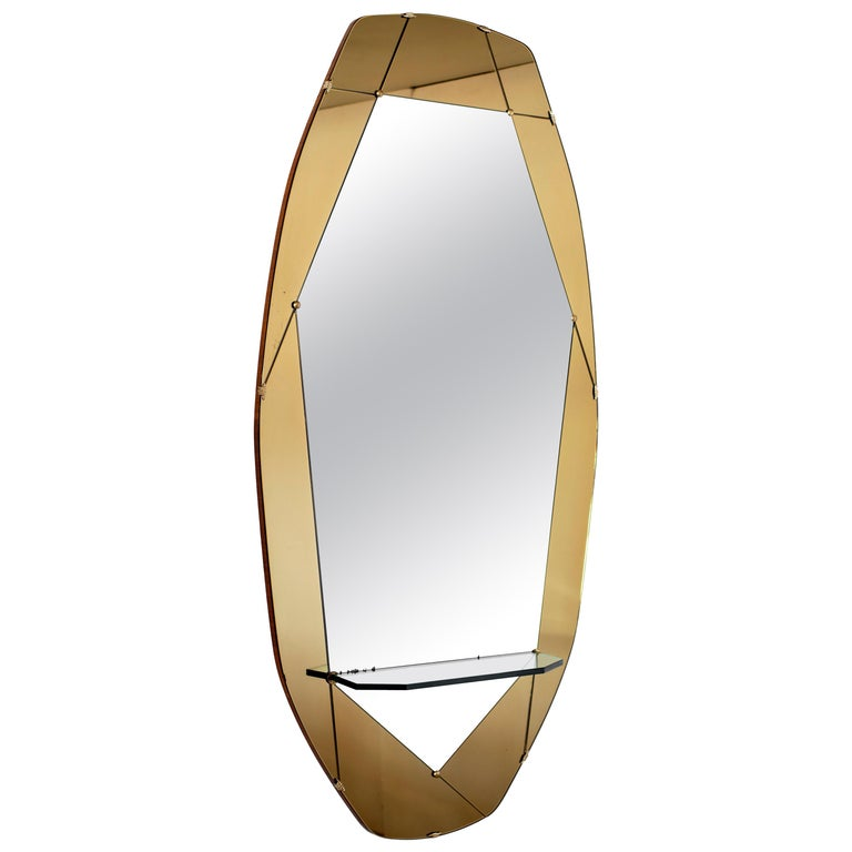 Cristal Art Geometric Mirror