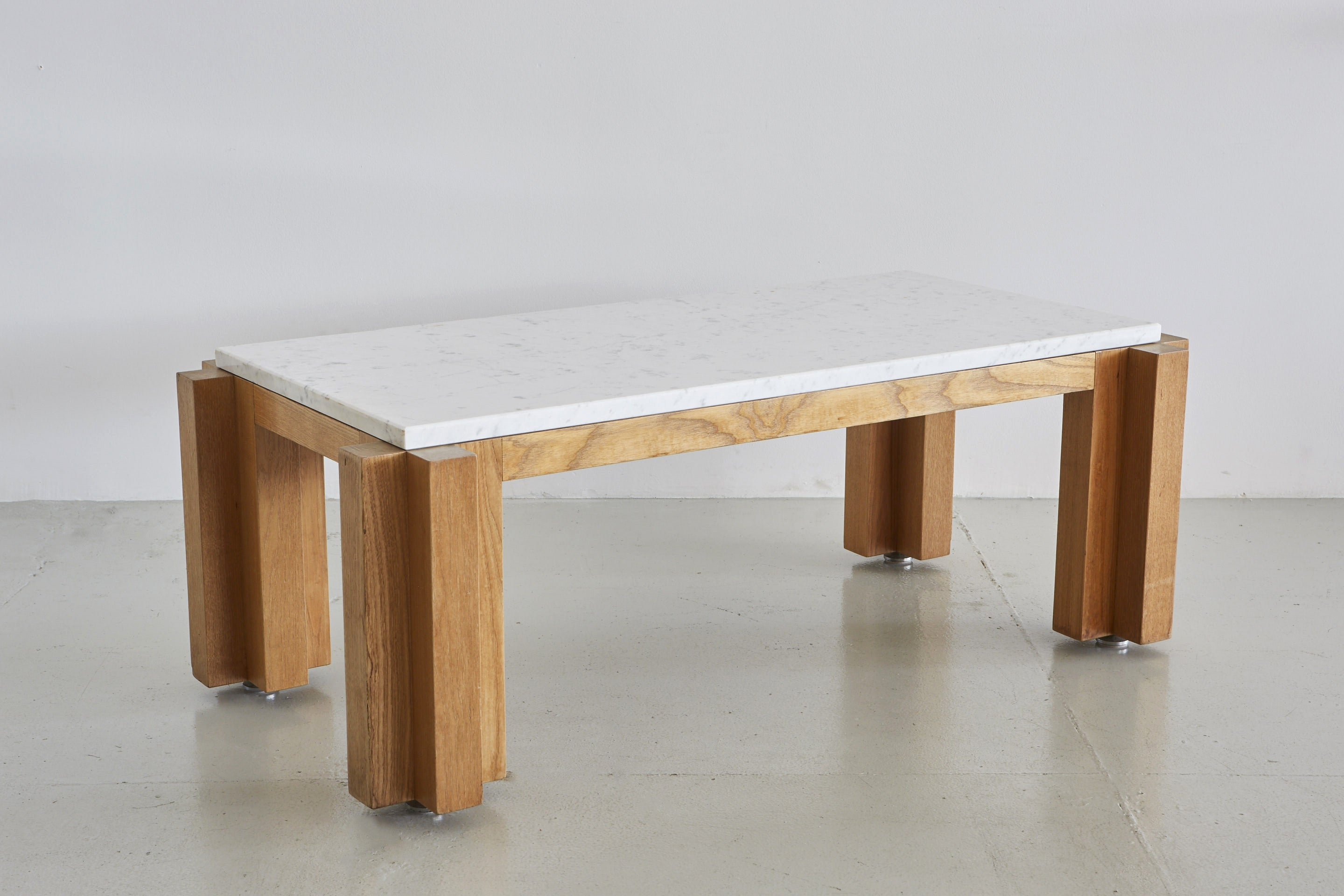 French Marble Coffee Table Orange Furniture Los Angeles
