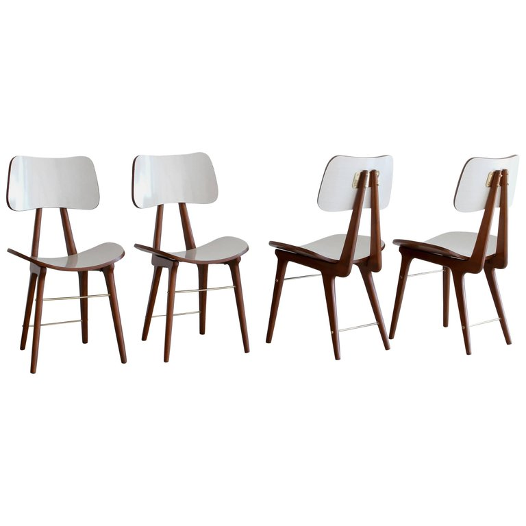 set of four italian dining chairs - Set Of Dining Chairs
