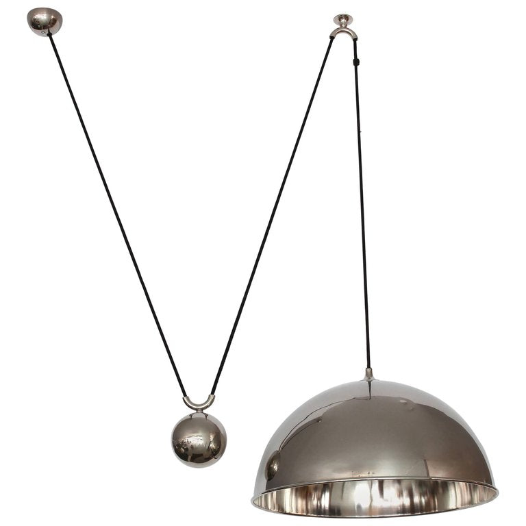 Florian Schulz florian schulz dome counter balance pendant orange furniture los