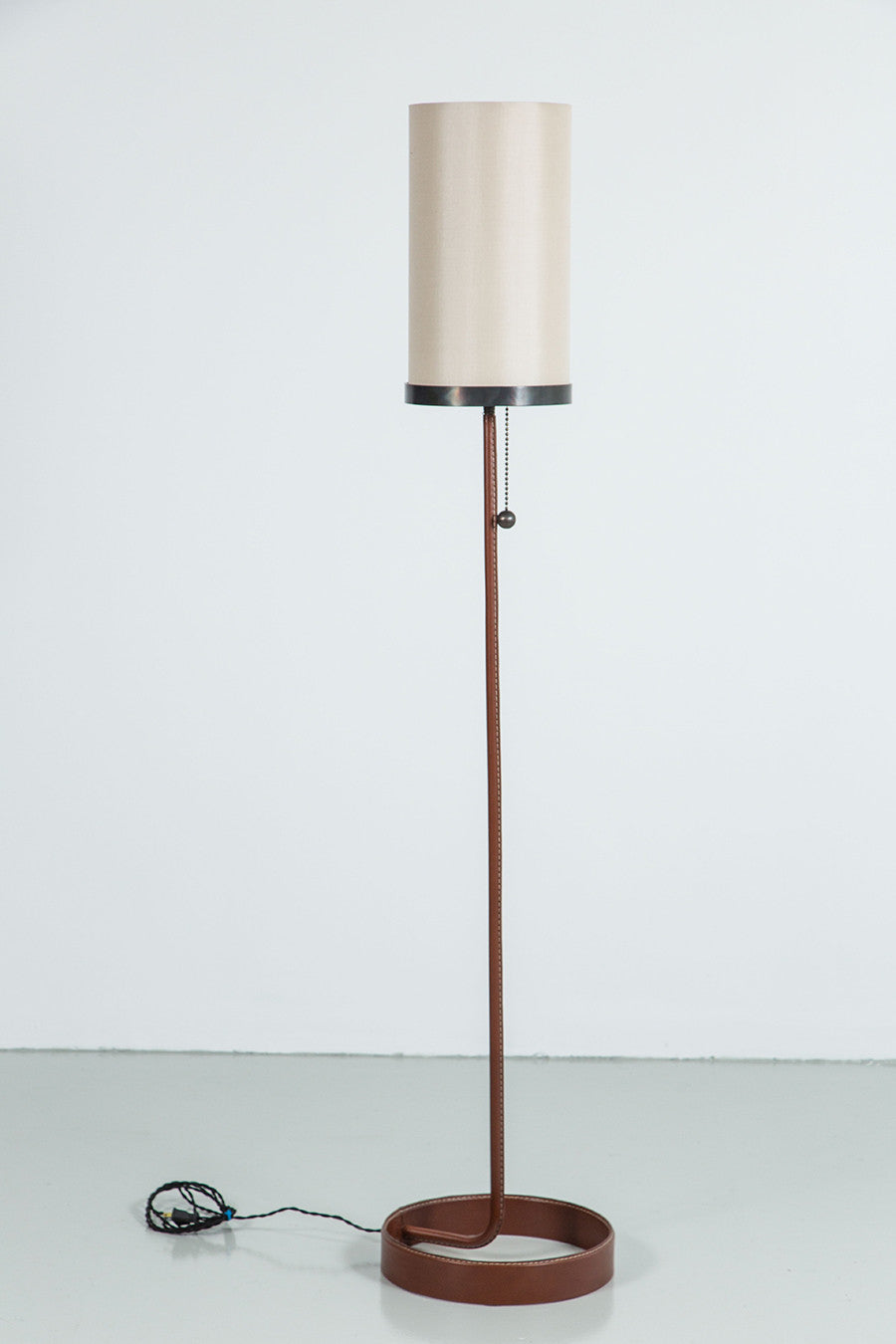 Wilshire leather floor lamp orange furniture los angeles wilshire leather floor lamp wilshire leather floor lamp aloadofball
