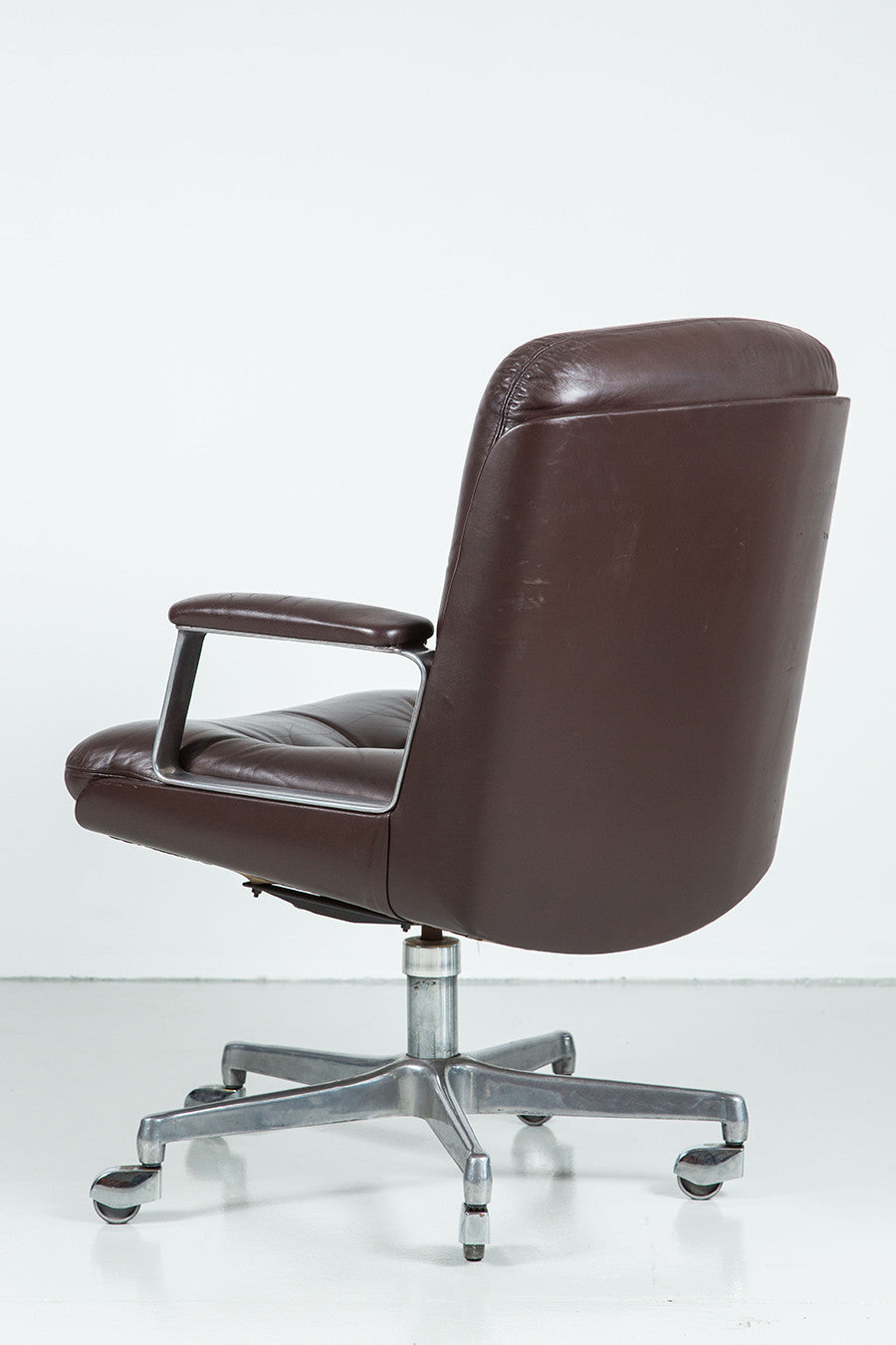 ... Italian Leather Office Chair (Four Available) ...