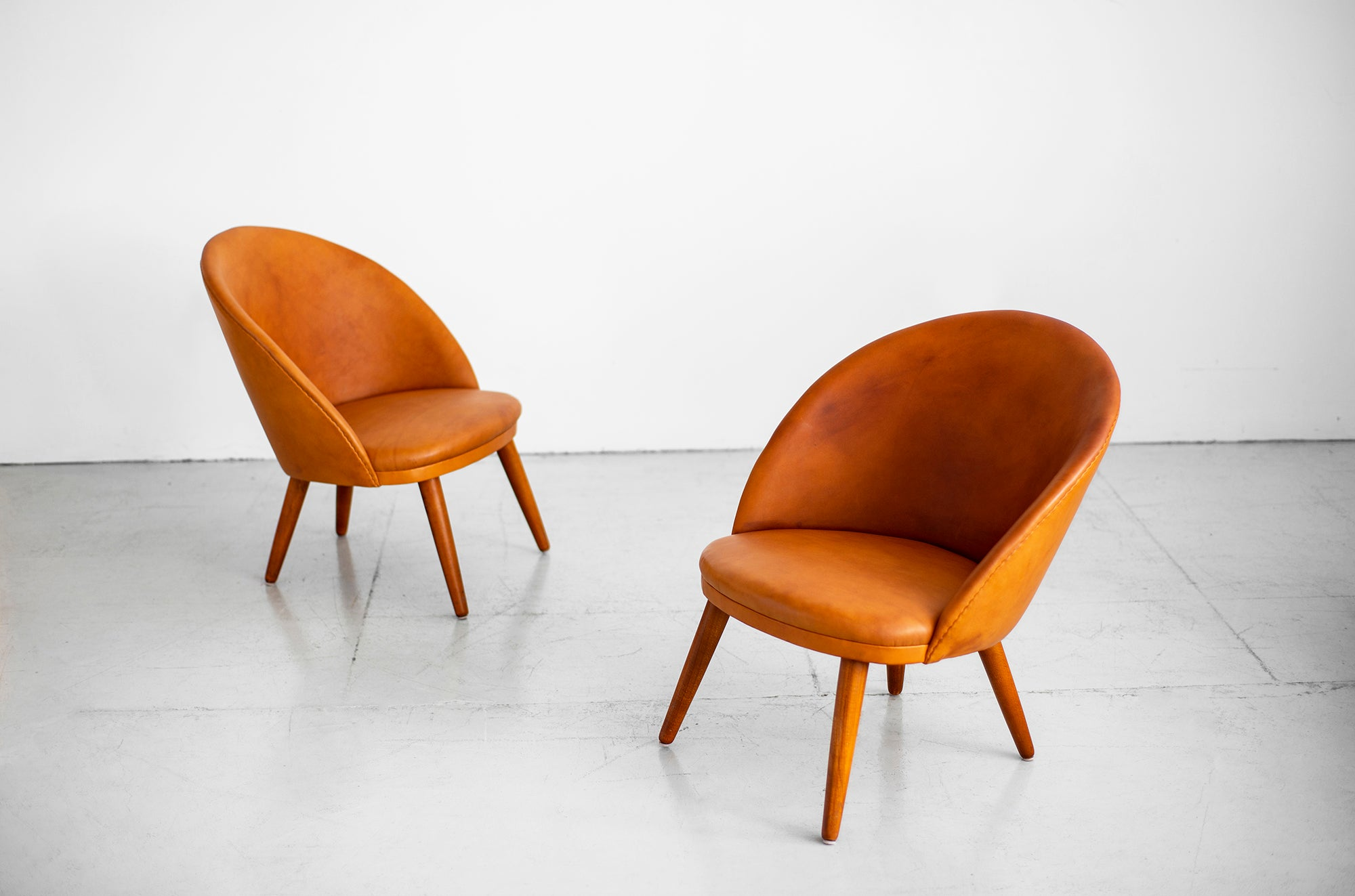 Fine Ejvind A Johansson Danish Easy Chairs Cjindustries Chair Design For Home Cjindustriesco