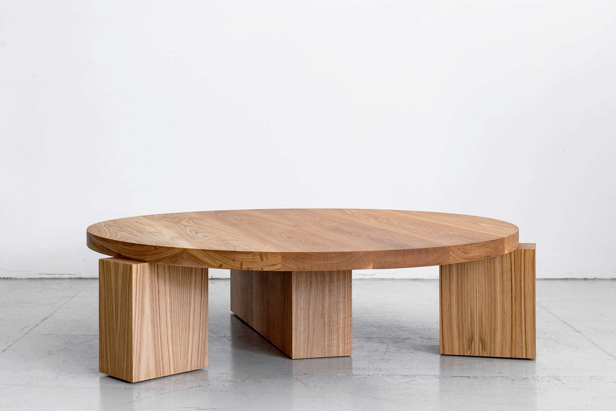 Round Coffee Table Wood.Cubist Round Coffee Table By Orange