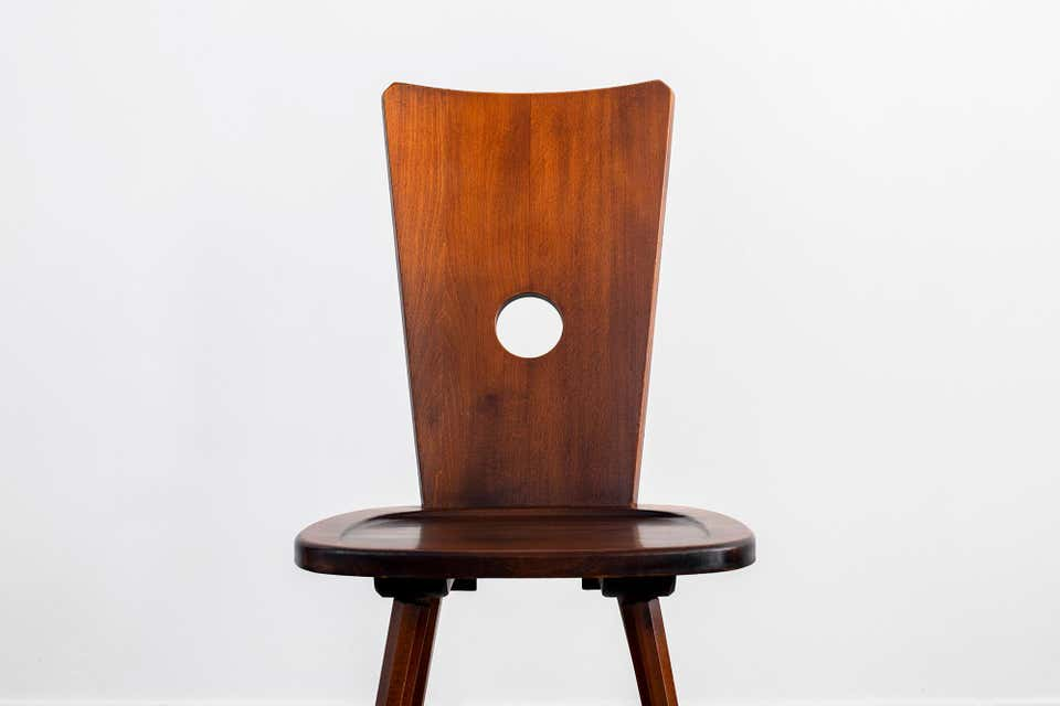 French Walnut Chair