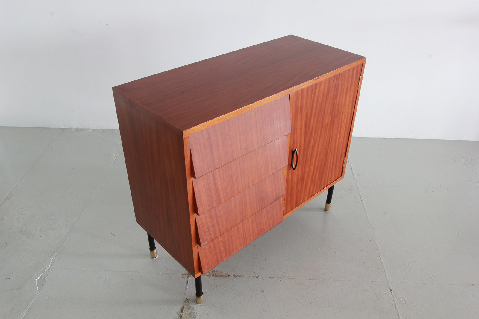 I.S.A. Bergamo One Door Four Drawer Cabinet ...