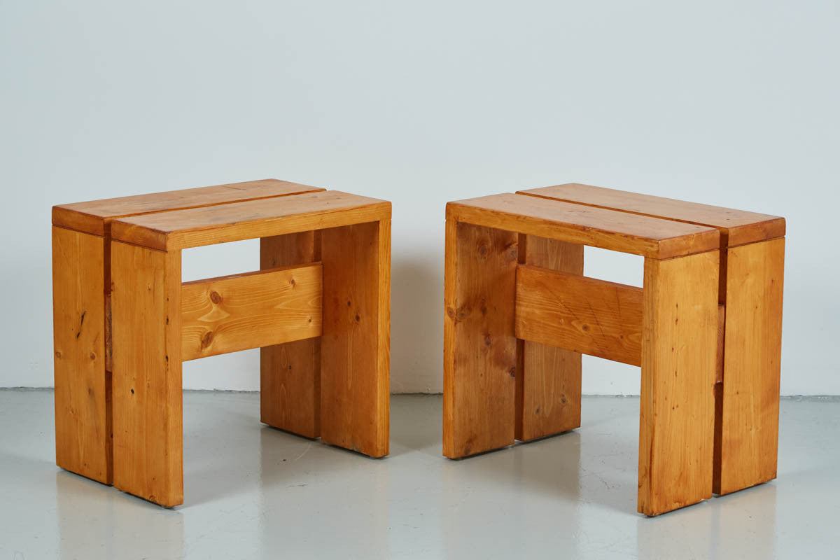 Pleasant Charlotte Perriand Les Arcs Stools Ocoug Best Dining Table And Chair Ideas Images Ocougorg