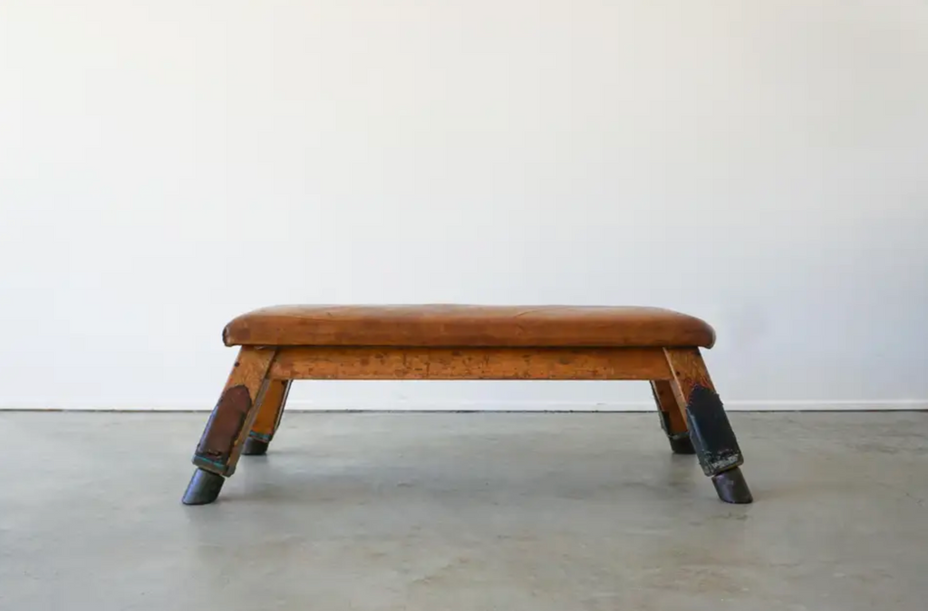 1930s Belgian Gym Bench