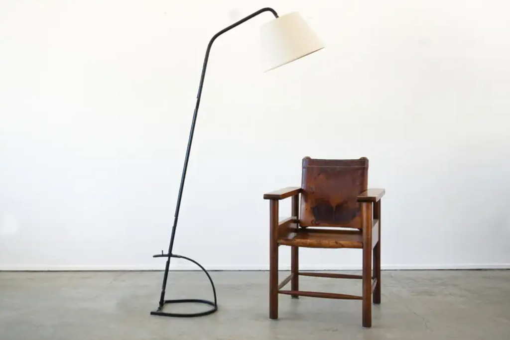 Jacques Adnet Adjustable Floor Lamp