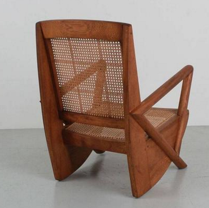 ... Mulholland Caned Armchairs ...