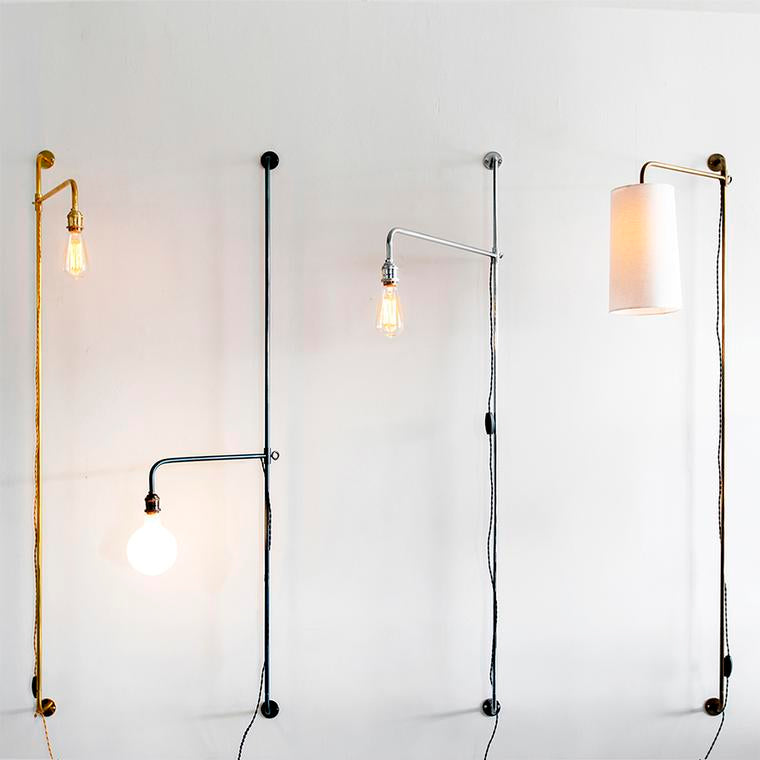 French Pole Sconces