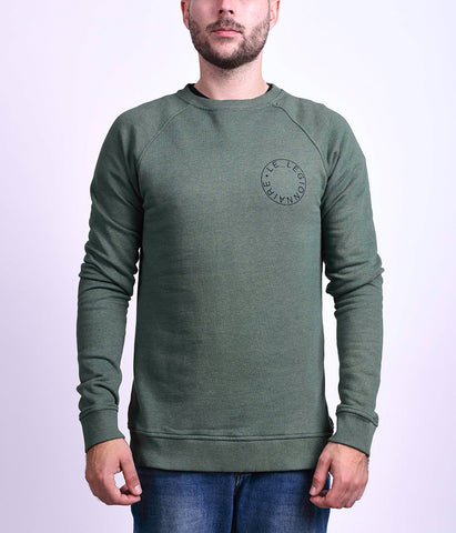 LOGO SWEATSHIRT - GREEN
