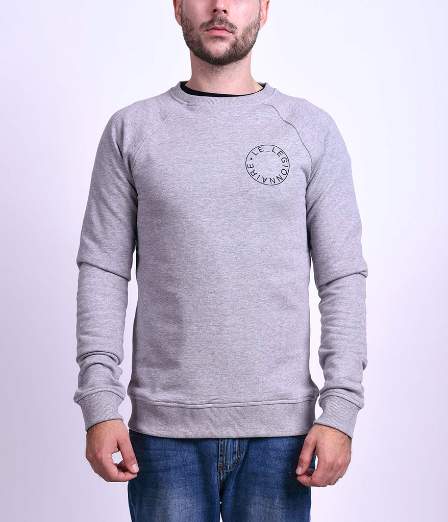 LOGO SWEAT - GREY