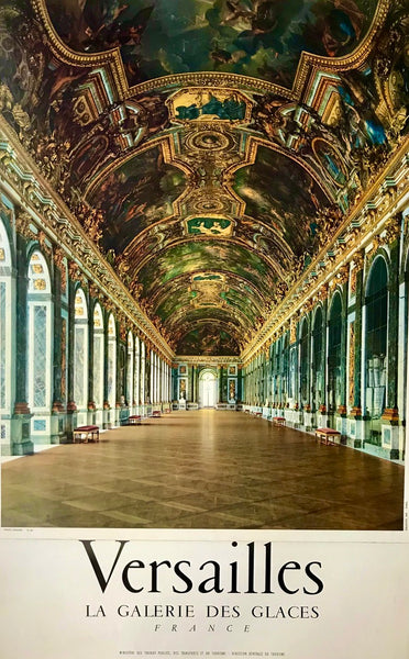 Versailles, Hall of Mirrors, France, 1956?